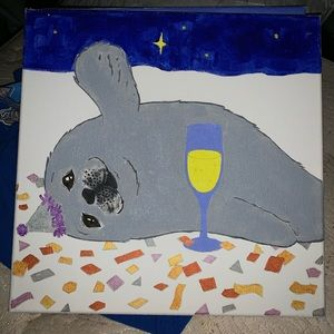 Seal painting